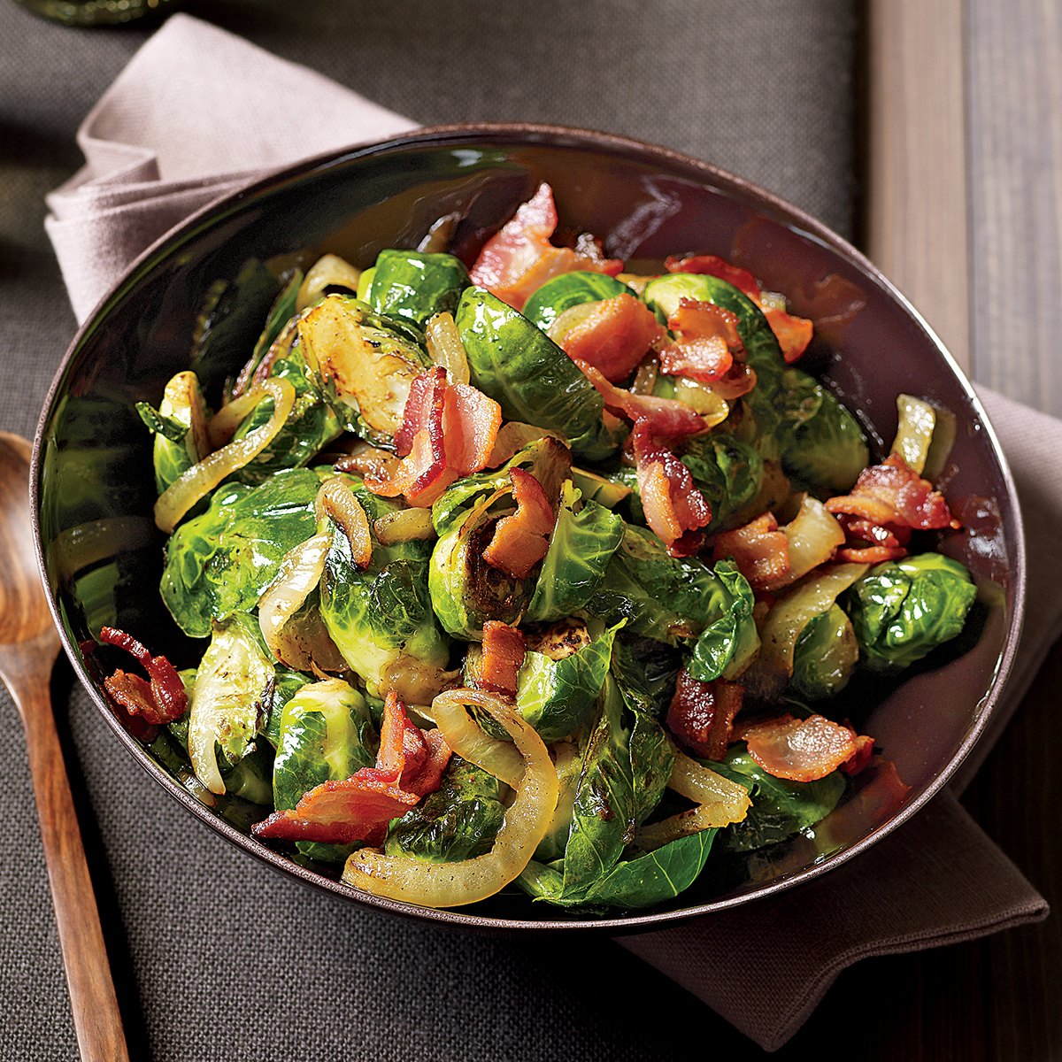 black forest brussels sprouts