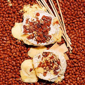 Caramel Baked Brie