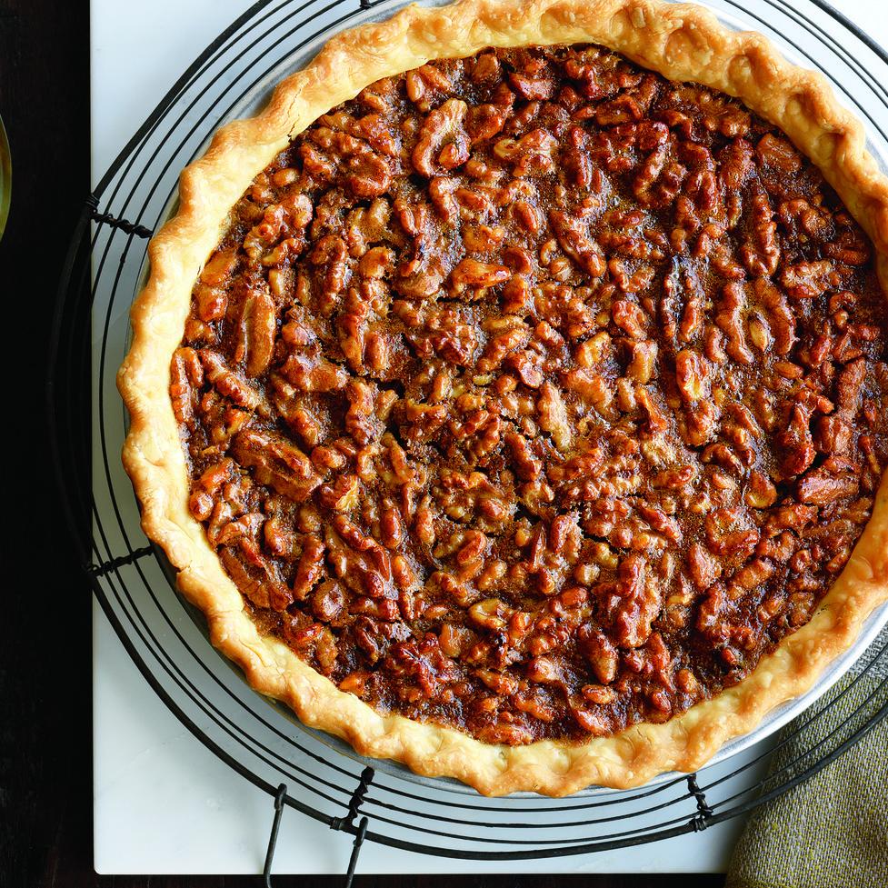 Caramel-Walnut Pie