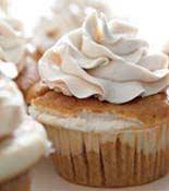 Cheesecake Pumpkin Cupcake