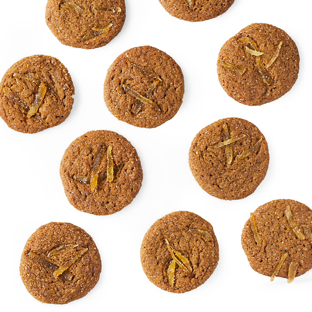 Chewy Lots-of-Ginger Cookies
