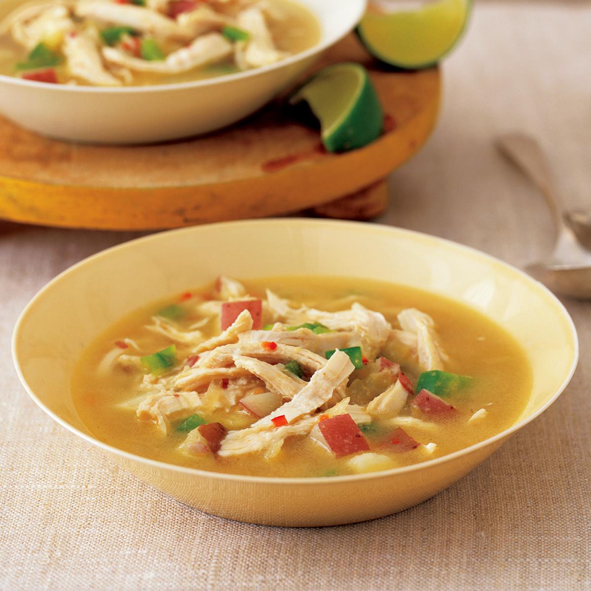 chicken peanut soup