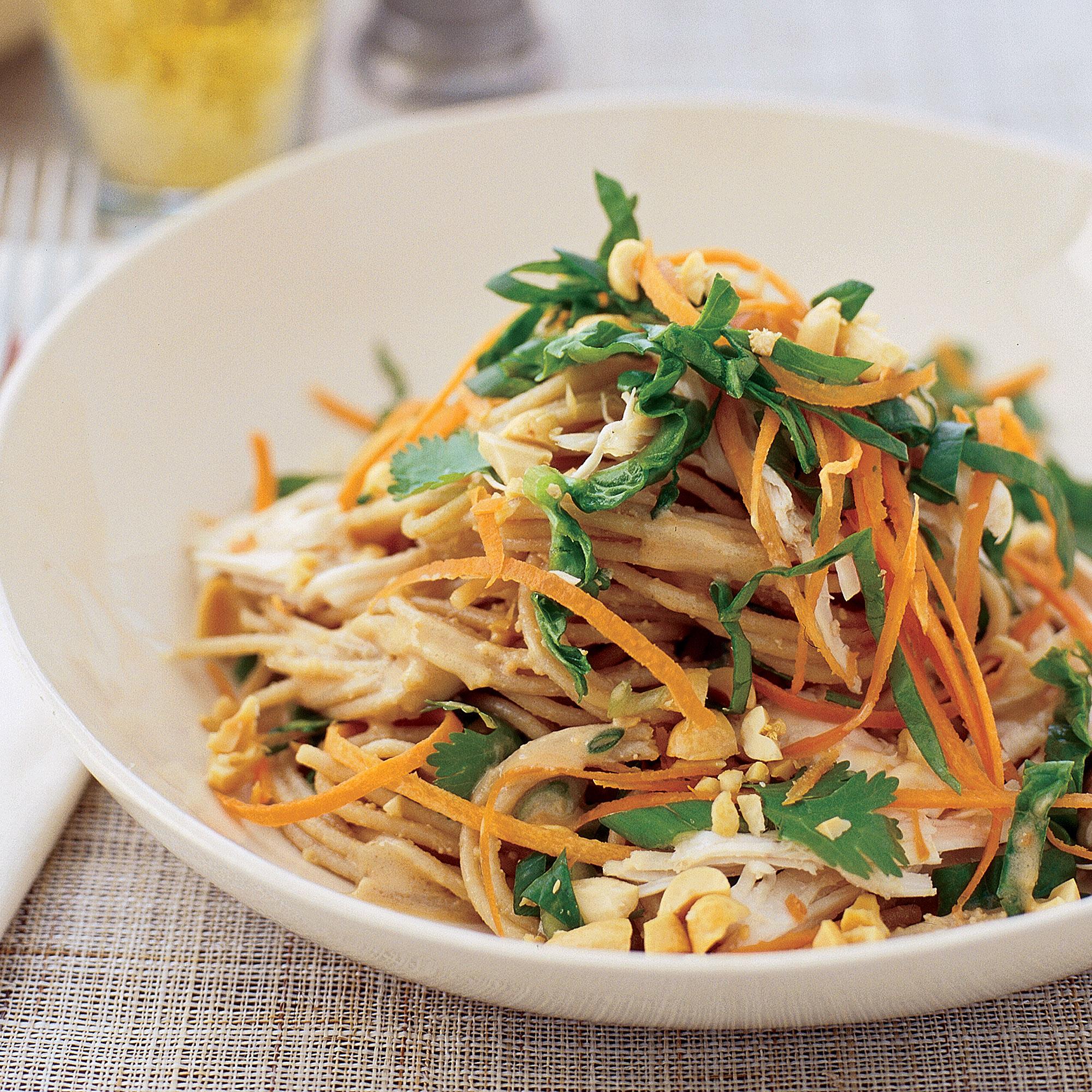 Chicken Satay Noodle Salad