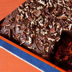 Chocolate-Pecan Cake