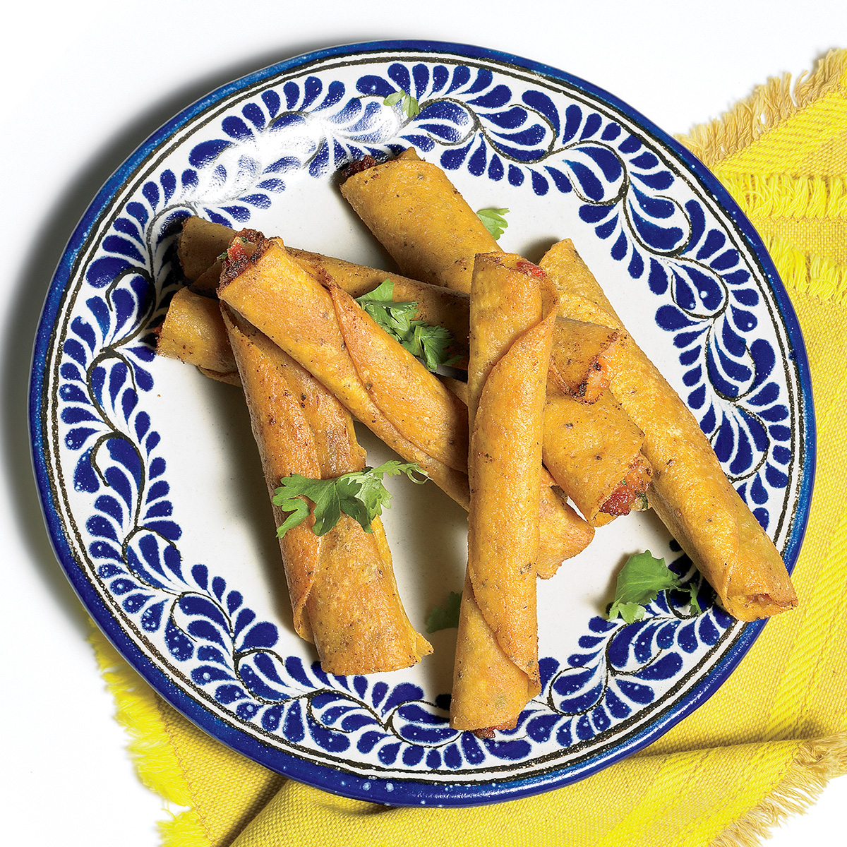 Chorizo-and-Potato Taquitos