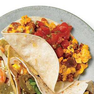 Chorizo Brunch Special Tacos