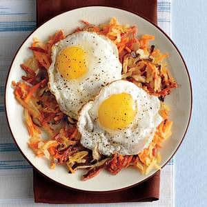 Chorizo Hash and Eggs