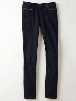 Coldwater Creek Zip Pocket Jeans