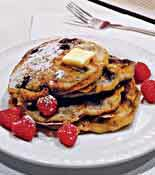 Crunch Berry Pancakes