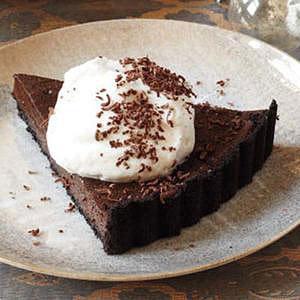 Double Chocolate Fudge Tart