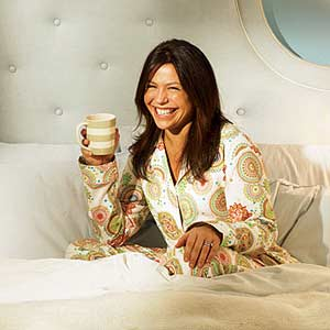 February 2007 Rachel in Bed