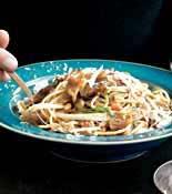 Fennel Onion Spaghetti