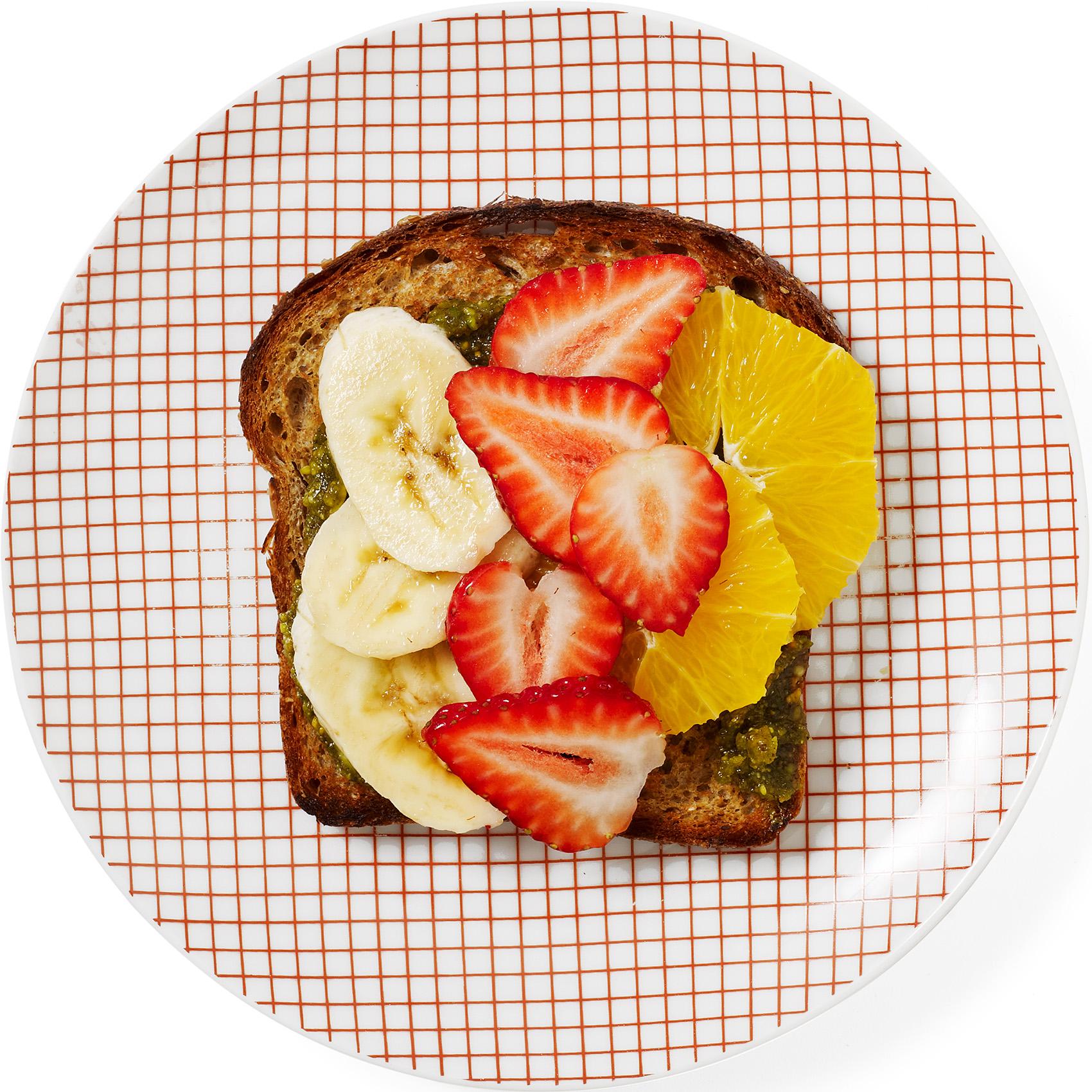 Fruit & Pistachio Toast