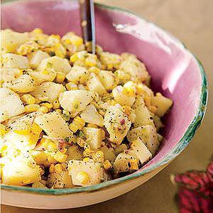 Grilled Corn and Potato Salad