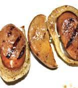 Grilled Kielbasa Fennel Pears