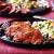Ham with mixed veggie rice