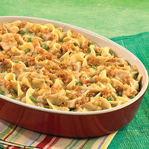 Hearty Chicken & Noodle Casserole