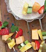 Honey Yogurt Dip with Fresh Fruit