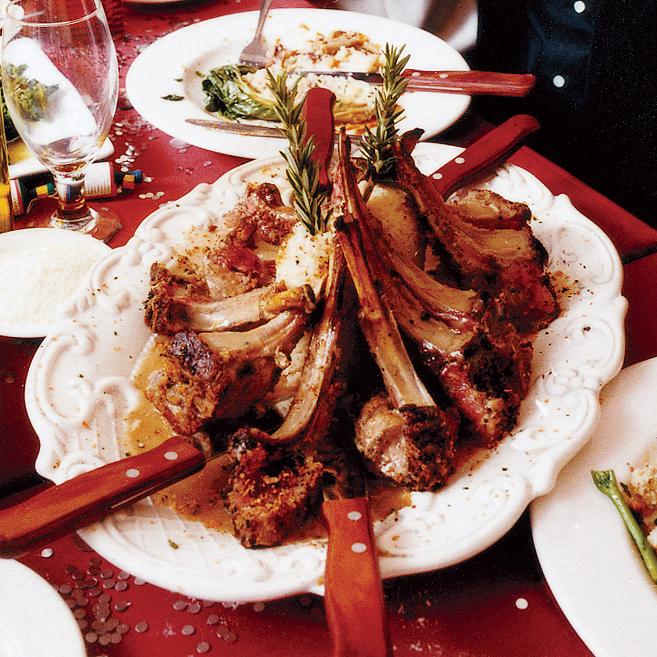 Italian-Asian Rack of Lamb