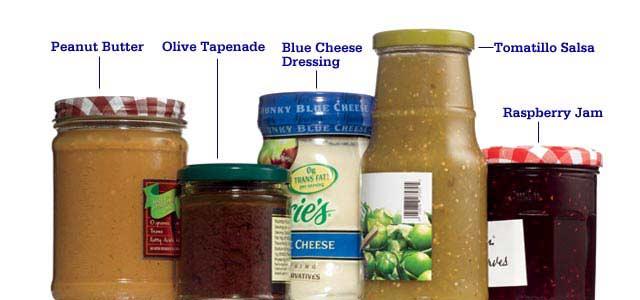 jarred foods