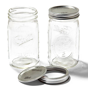 Jars, lids and bands