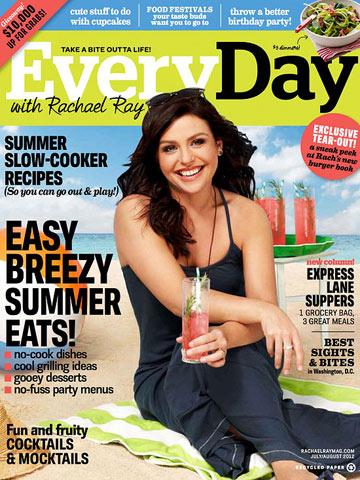 July/August 2012 Rachael Ray Magazine
