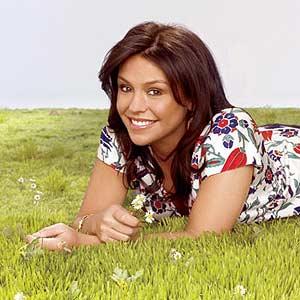 June 2007 Rachel laying in grass