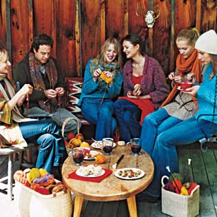 Knitting-Party