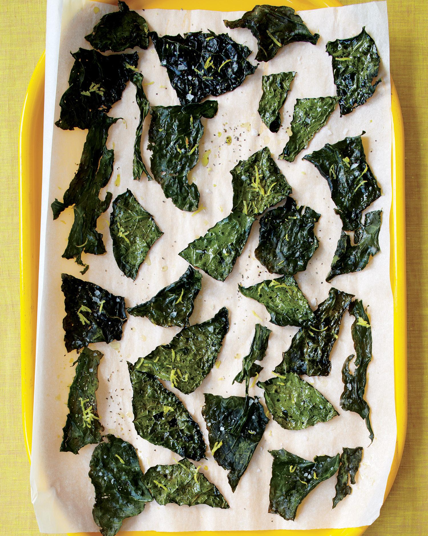 Lemon-Pepper Kale Chips