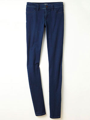 Loft Super Skinny Jean in Refined Indigo Wash