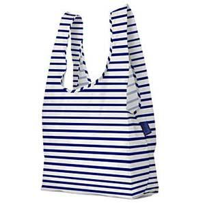 navy stripe bag