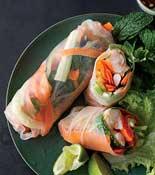 no fry shrimp spring rolls