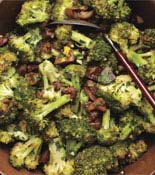 Pan Roasted Broccoli Chestnuts