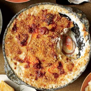 partially eaten pie