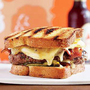 Patty Melts with Eggs