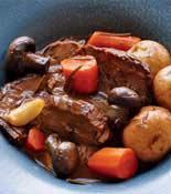 pot roast and potatoes