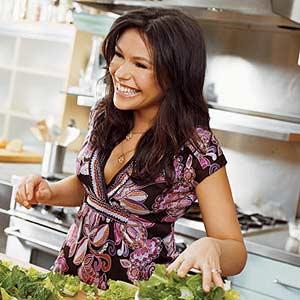 Rachel Grabbing Cuts of Lettuce