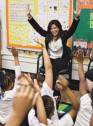 Rachel in Kids Classroom