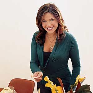 Rachel on Side of Table