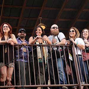 Rachel Ray with Balcony Fans