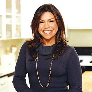 Rachel Smiling in the Kitchen