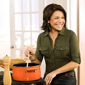 Rachel Stirring in Pan