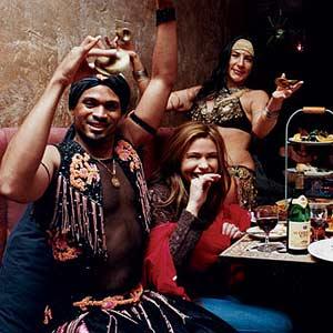 Rachel with Dancers