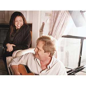 Rachel with Jeff Daniels