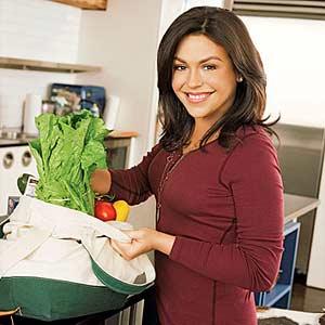 Rachel with Produce