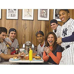 Rachel with Sport friends