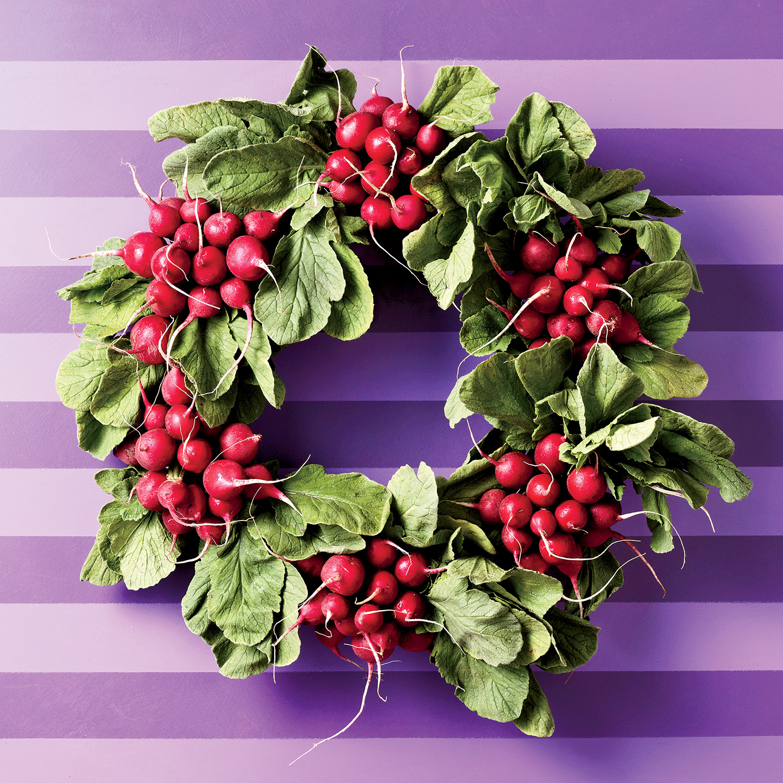 radish wreath