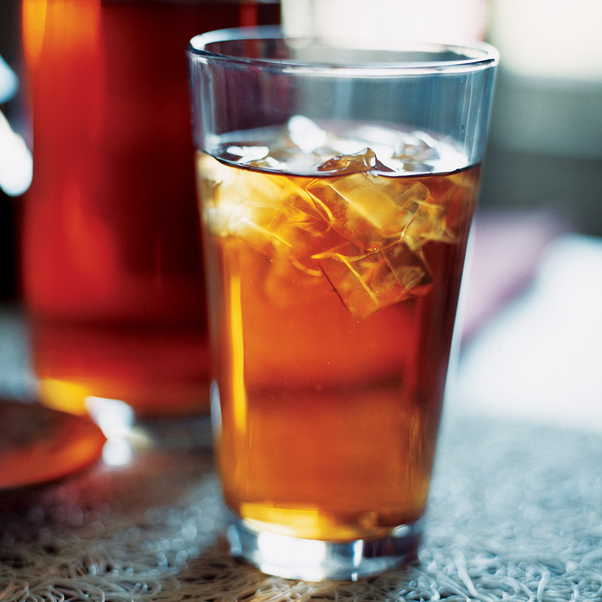 rosy iced tea