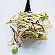 shiitake Leek Sesame Noodles
