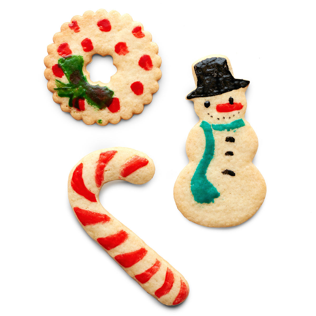 Soft Sugar Cookies with Edible Paint